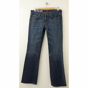 J. Crew Ultra Low Jeans